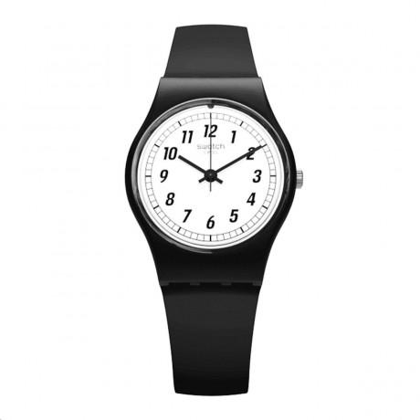 Swatch Something Black 25 mm Quartz LB184