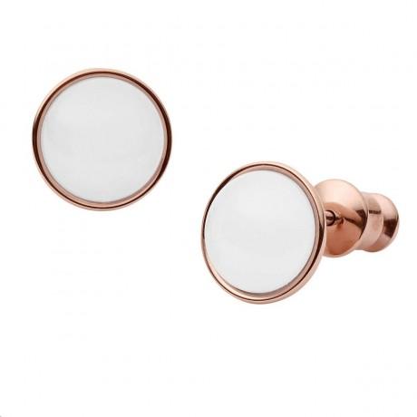 SKAGEN Boucles d'oreilles Glass Acier doré rose SKJ0950791