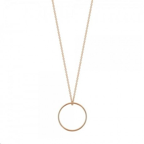 GINETTE NY Collier Mini Circle Or rose CCE003