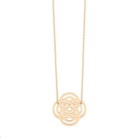 GINETTE NY Collier Mini Purity Or rose IN3