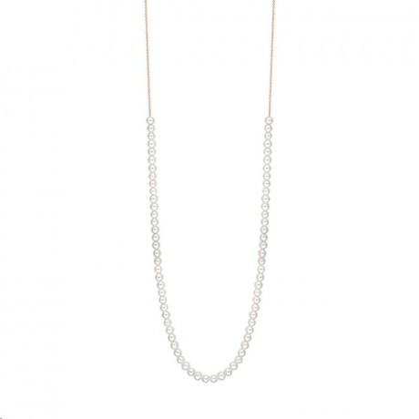 GINETTE NY Collier Maria Mini Perles Boulier Or rose MA05P
