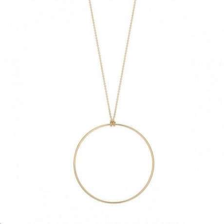 GINETTE NY Collier Circle Or rose CCE001