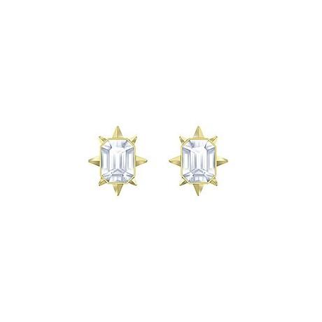 SWAROVSKI Boucles d'oreilles Tarot Magic Métal doré Cristaux blancs 5494019