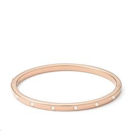 Bracelet Vintage glitz Acier doré rose Cristaux